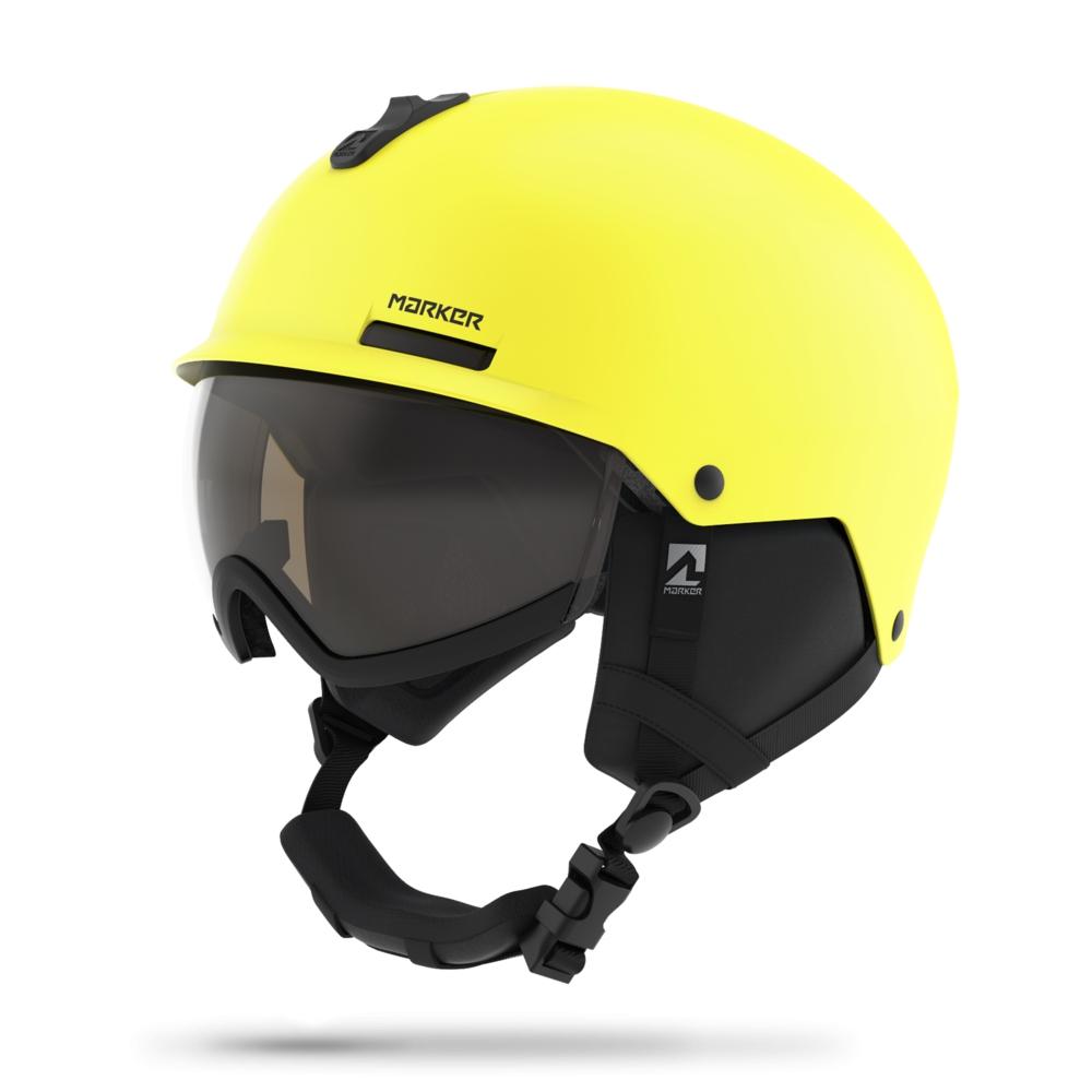 Lyžování - lyžařská helma MARKER Vijo 18/19, žlutá