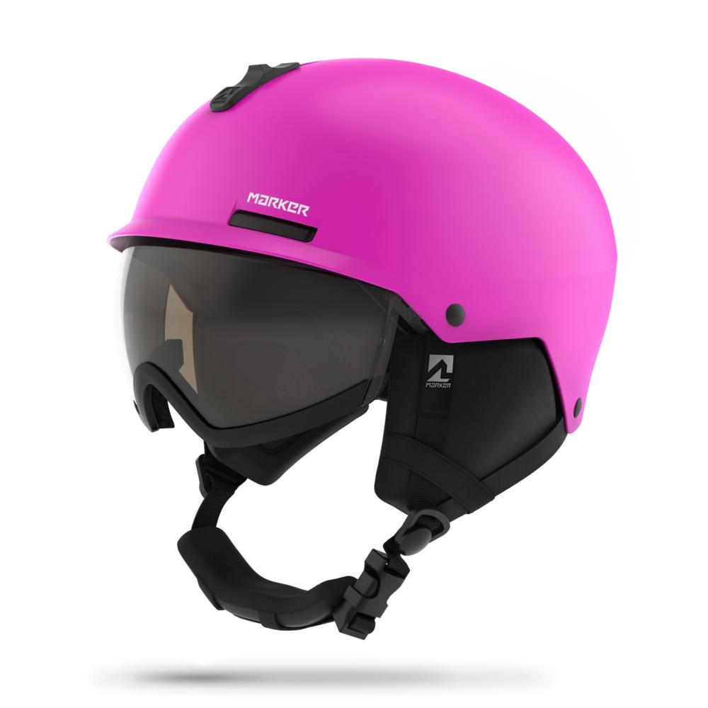 Lyžování - lyžařská helma MARKER Vijo 18/19, růžová