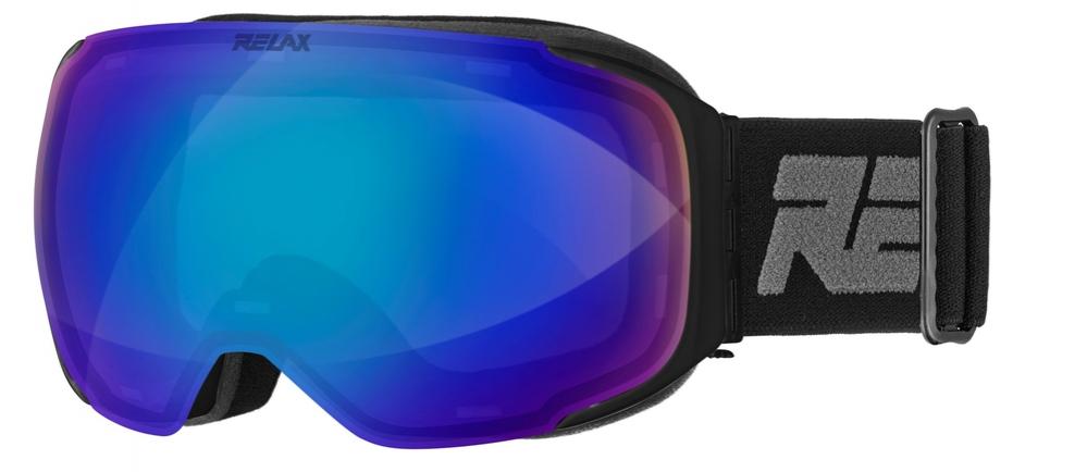 Lyžování - lyžařské brýle RELAX Stream černé HTG44