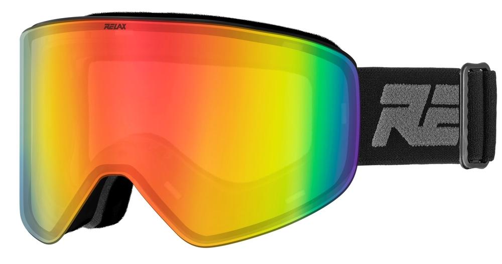 Lyžování - lyžařské brýle RELAX X-Fighter černé HTG59