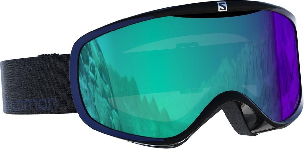 Lyžování - lyžařské brýle SALOMON Sense Photo black/all weather blue