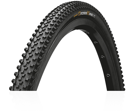 Cyklistika - plášt Continental Cross King CX Pefrormance 700x35 - kevlar