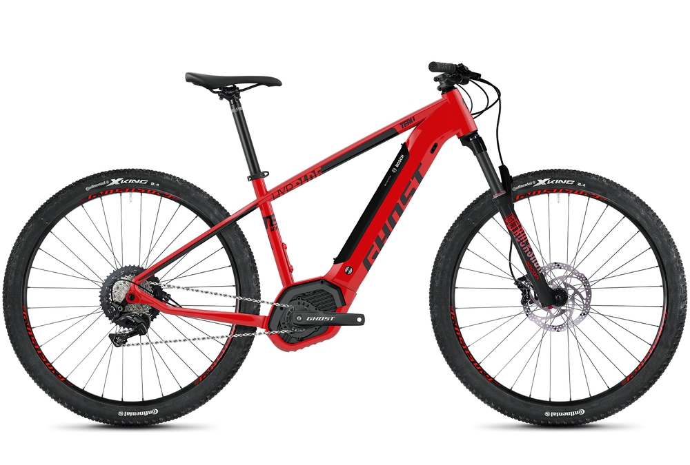 Cyklistika - GHOST Hybride Teru PT B5.9 (2020), ČERVENÁ