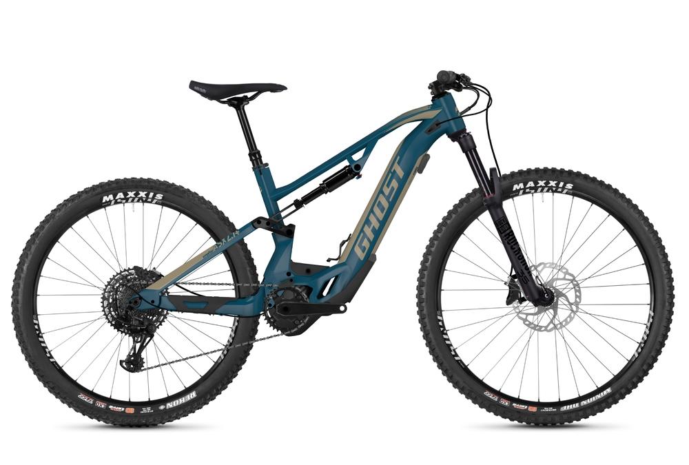 Cyklistika - GHOST Hybride ASX 2.7+ (2020), MODRÁ