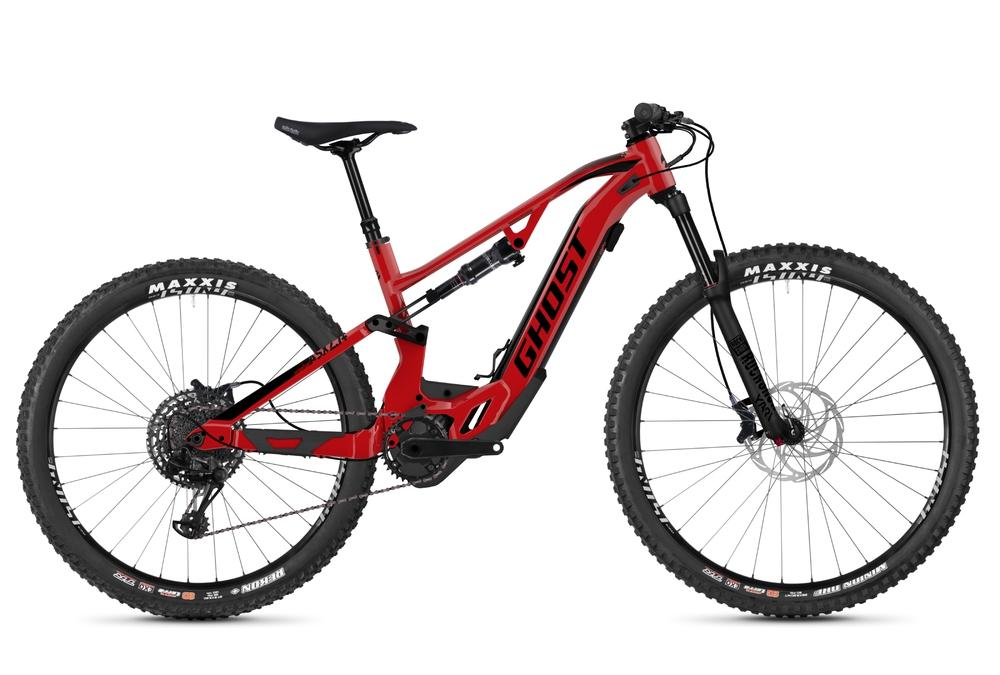 Cyklistika - GHOST Hybride ASX 6.7+ (2020), ČERVENÁ