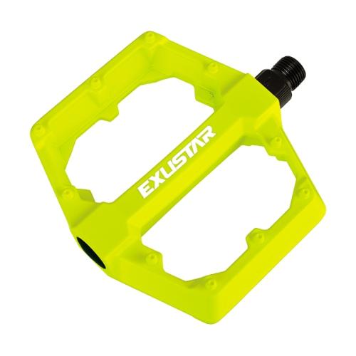 Cyklistika - pedály EXUSTAR PB70, žlutá