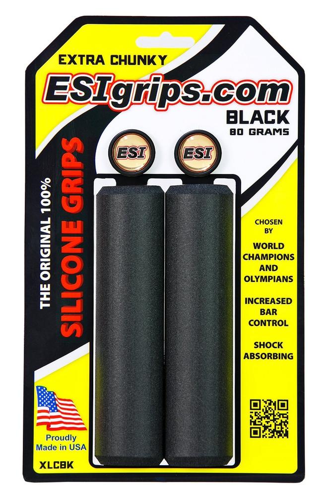 Cyklistika - ESI Grips Extra Chunky černé