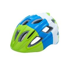 přilba R2 Bondy (2017), modrá/zelená/bílá