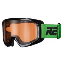 lyžařské brýle RELAX Bunny černá/zelená