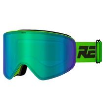 lyžařské brýle RELAX X-Fighter zelené HTG59B