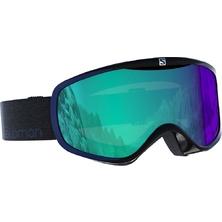 lyžařské brýle SALOMON Sense Photo black/all weather blue
