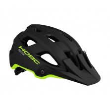 přilba HQBC Roqer black/neon yellow matt