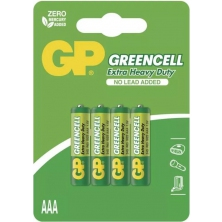 baterie GP R3G,AAA greencell blistr